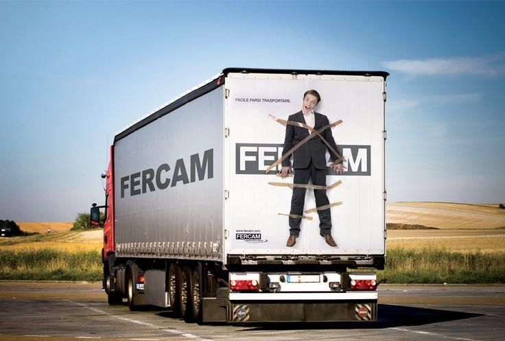 """KF ADV vince il concorso Fercam """"Design your Truck"""" - Facile farsi trasportare #adv"""