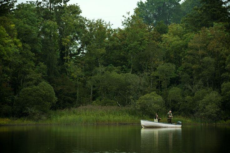 Fishing for pike in Cavan