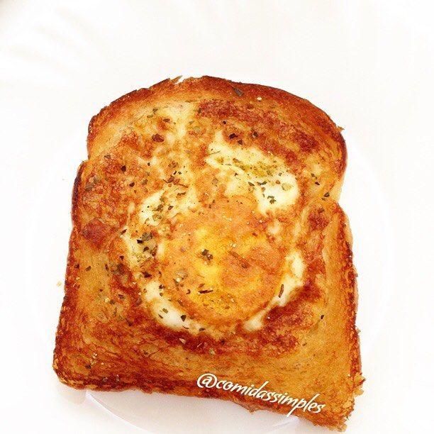 Ainda sobre o ovo frito na  no Pão fatiado, ficou assim↗️ #paodeforma #pao #bread #ovo #frito #egg #dehoje #tagsforlike #likes #delicia #gastronomia #gourmet #tempero #saudavel #simples #rapido #facil #comidassimples #lol