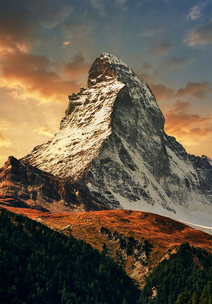 Matterhorn, Switzerland | Katarina Stefanović via flickr