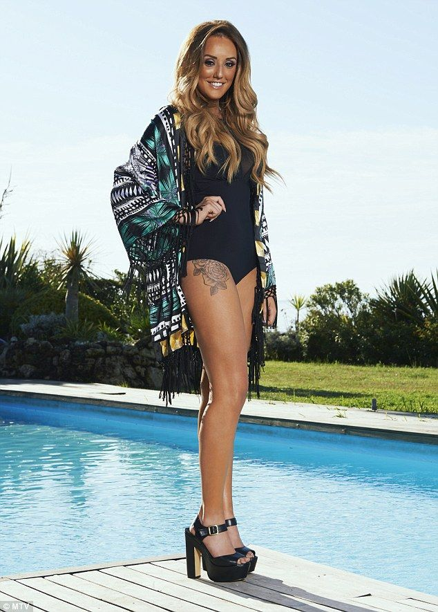 Charlotte Crosby and Gaz Beadle for new series of Ex On The Beach #dailymail