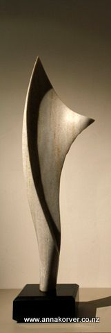 Marble wing - Anna Korver (my sculpture teacher)