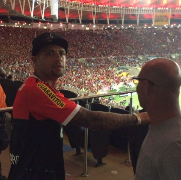 Fla se reúne com pai de Felipe Melo, mas desiste após ouvir pedida salarial #globoesporte