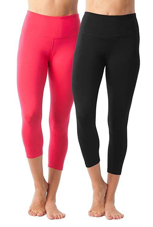 a52cc00b314d5 90 Degree By Reflex – High Waist Tummy Control Shapewear – Power Flex  Capri  Clothing