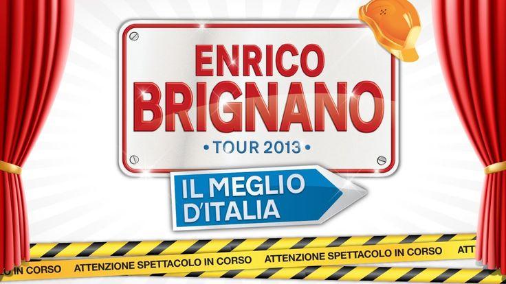 Enrico Brignano in IL MEGLIO D'ITALIA - Spettacolo completo