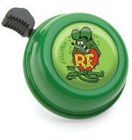 "Electra Bicycle Bell (RatFink) by Electra Bicycle Company. $7.11. Fits: Standard bicycle handlebar.. Bell is green with Rat Fink character. Custom Electra Rat Fink Bell for the ultimate Ed ""Big Daddy"" Roth fan. RatFink Bell"