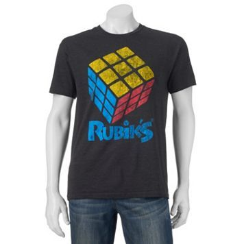 Men's Rubik's Cube Primary Tee