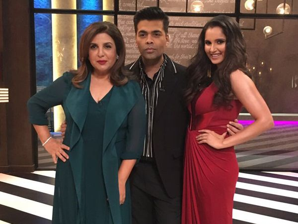 5 times Farah Khan and Sania Mirza made 'Koffee With Karan 5' a laugh riot