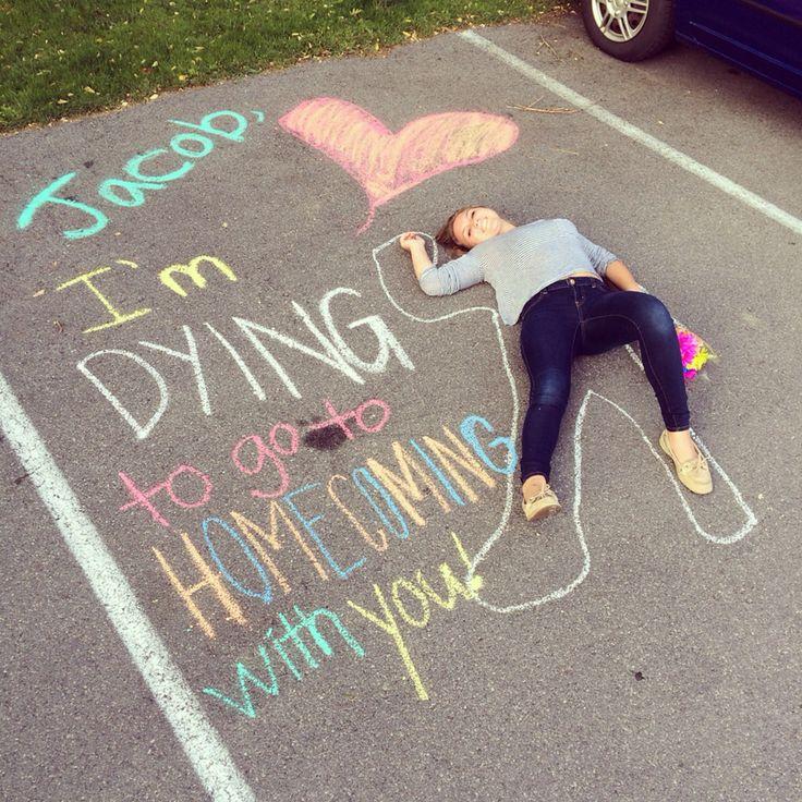 #homecoming #proposal Sadie Hawkins!! :)