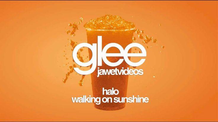 Glee Cast - Halo/Walking on Sunshine (karaoke version)