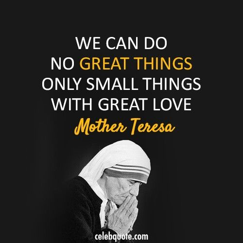 Download We can do no great things, only small things with great ...