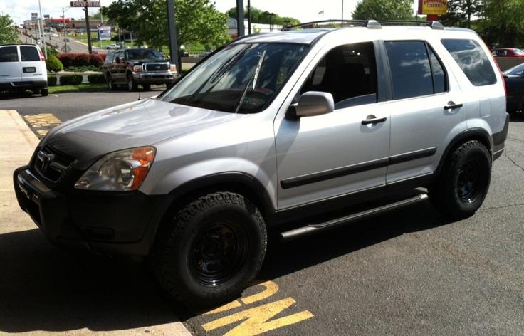 2005 honda cr v ex tire size