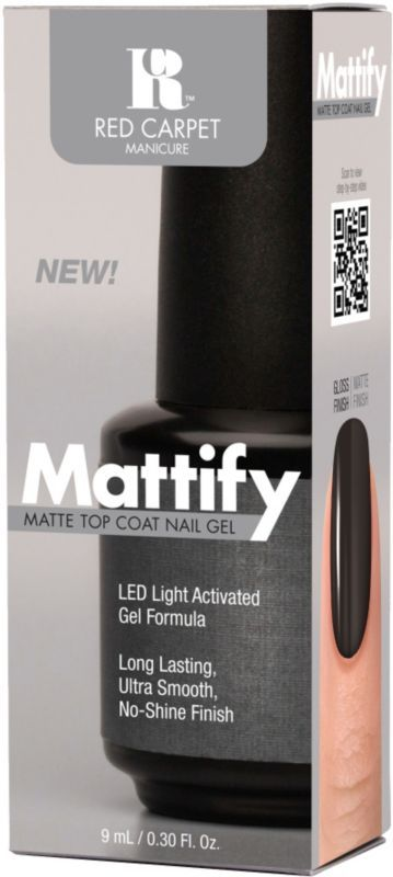 Red Carpet Manicure Mattify Matte Top Coat Nail Gel Ulta.com - Cosmetics, Fragrance, Salon and Beauty Gifts