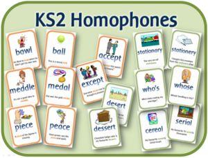 EYFS KS1 KS2 teaching resources - KS2 Homophone display pack