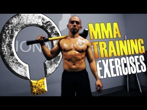 ▶ Extreme MMA Core Exercises with the Sledgehammer and Tire - YouTube