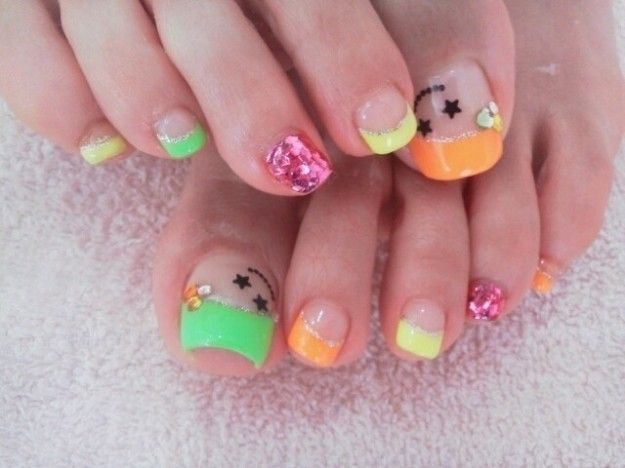 45 best toe nail art designs images on pinterest pedicure cute cool toe nail art designs 2012 nail styles and nail polish prinsesfo Images