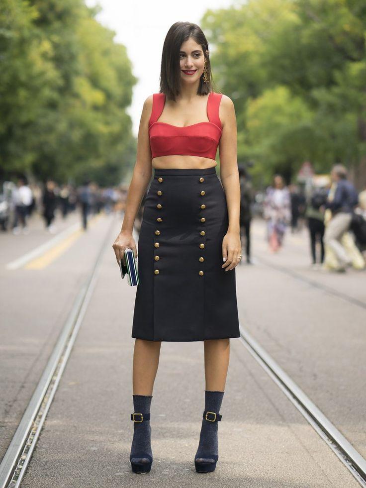 Milan Fashion Week Street Style Spring 2017 | POPSUGAR Fashion