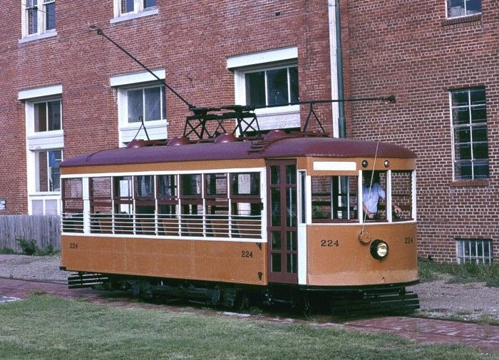 "9. Birney Safety Streetcar No. 224: Located in in Fort Smith, Arkansas, and listed on the U.S. National Register of Historic Places, this streetcar was built in 1926 by the American Car Company. It is a type of streetcar known as a Birney ""Safety Car""."