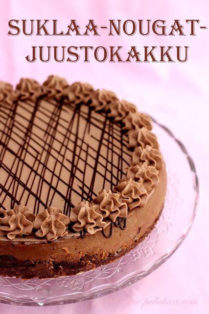 Pullahiiren leivontanurkka: Suklaa-nougat-juustokakku