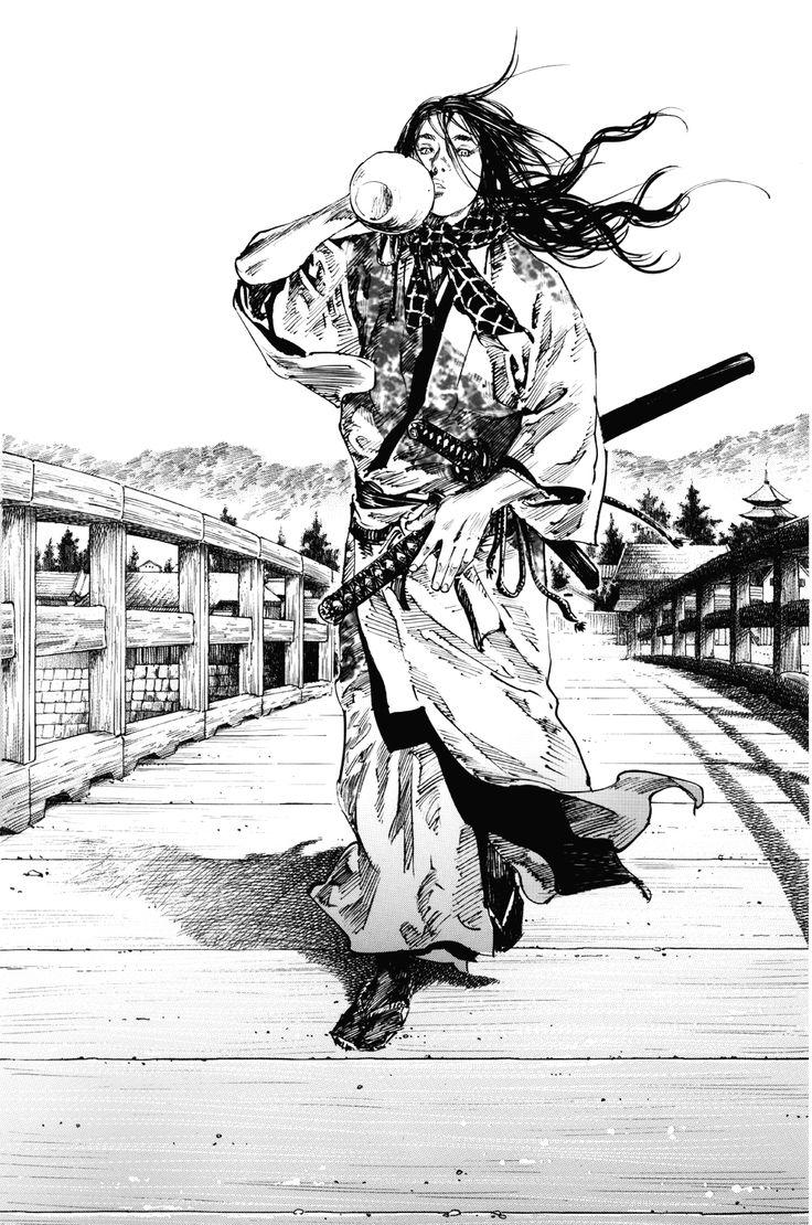 Vagabond Illustrations: Seijuro Yoshioka by Takehiko Inoue.