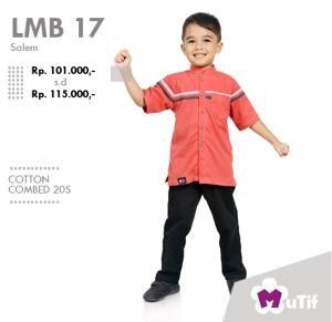 Baju Anak Little Mutif Boy LMB-17 Salem