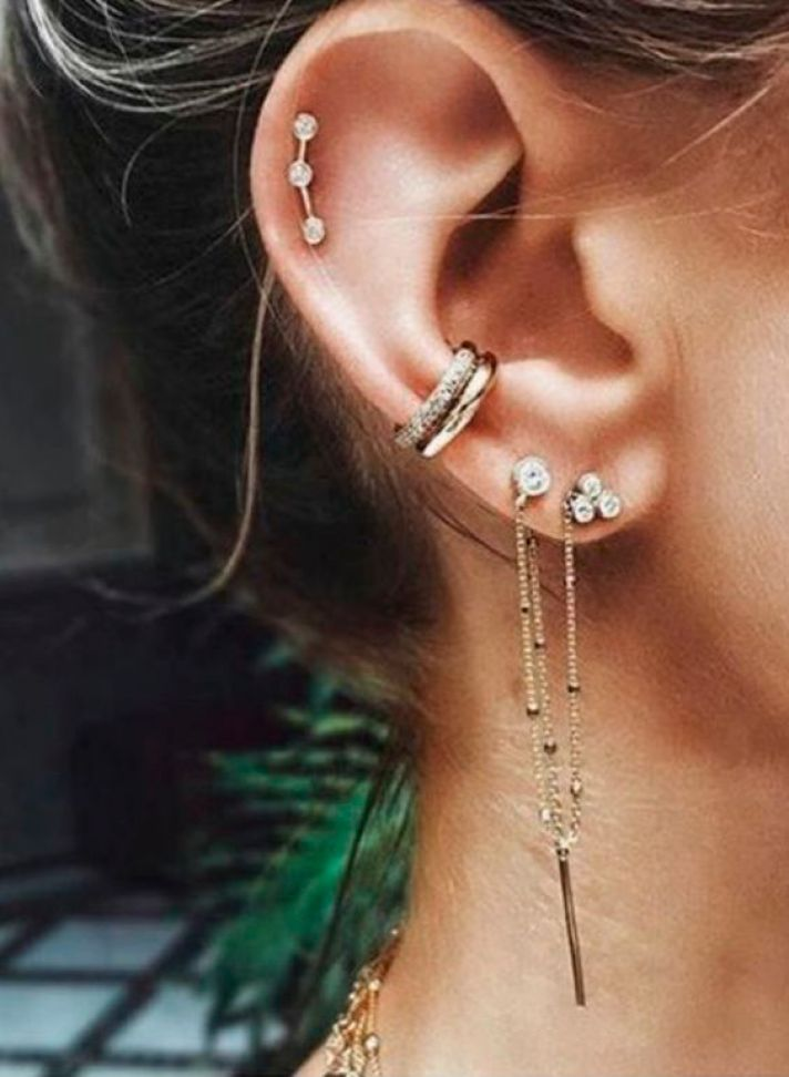 Amazing Ear Piercings