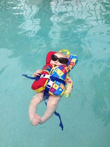 how to train your baby to swim