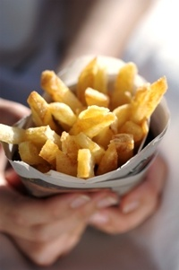 Crispy chips  from Food from the heart. Courtesy of Lapa Publishers, photo by Adriaan Vorster