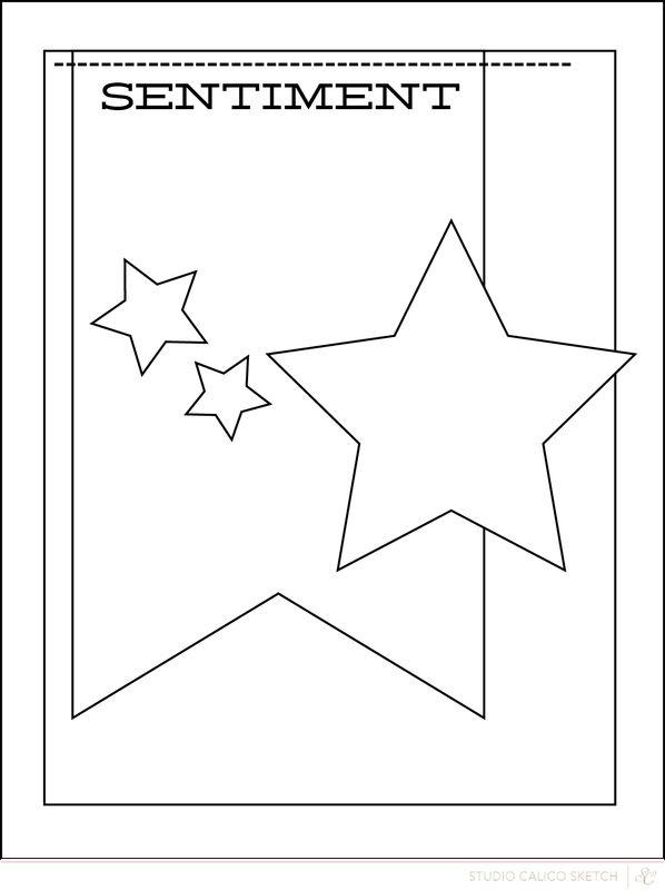 112314 Blog: Sunday Sketch | Nicole - Scrapbooking Kits, Paper & Supplies, Ideas & More at StudioCalico.com!