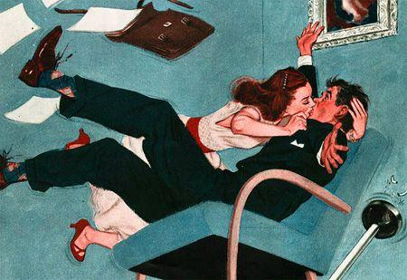 Винтажные романтические фото и картинки, черно-белые фотографии и иллюстрации на тему любви | All report Интернет журнал о кино, искусстве, дизайне и архитектуре