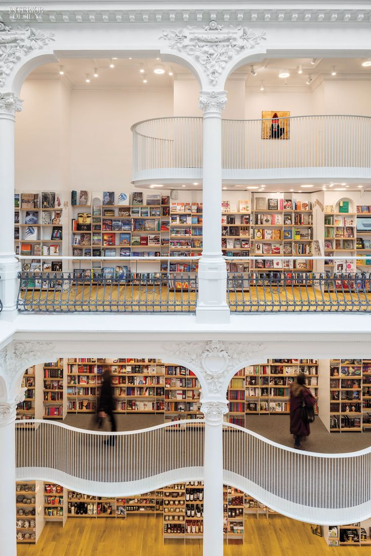 66 best Interior design: LIBRARY + BookStore images on Pinterest ...