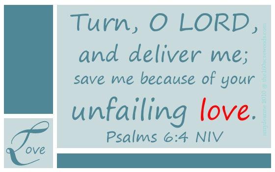 Your Unfailing Love :)
