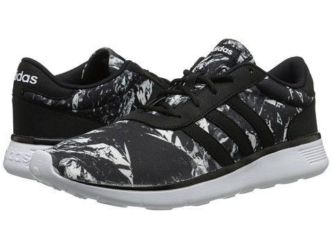 adidas Lite Racer Black/White/White - 6pm.com