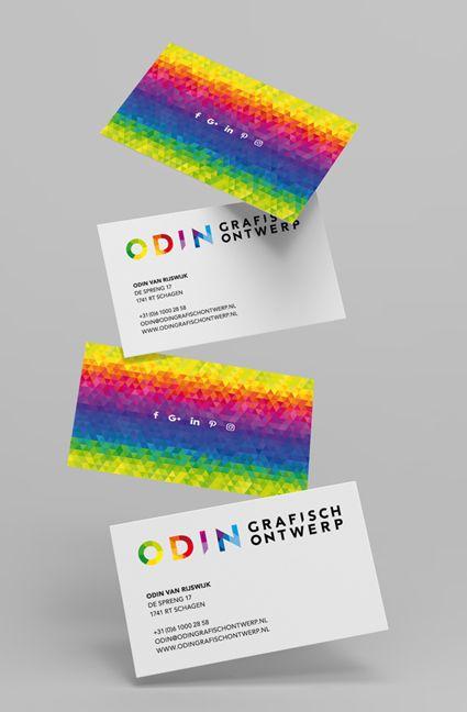 c5e087cfda3 Visitekaartjes Odin grafisch ontwerp. Nu voor iedereen beschikbaar ...