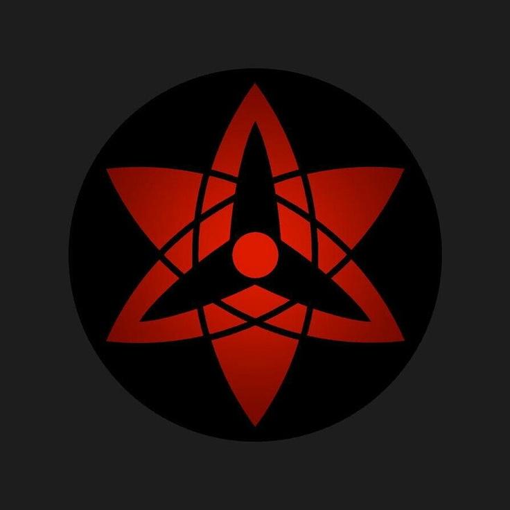 Anime/manga: Naruto (Shippuden), Sasuke's Eternal Mangekyou Sharingan.