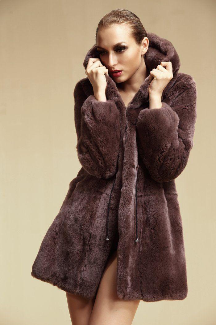 17 best Rex rabbit fur coats images on Pinterest