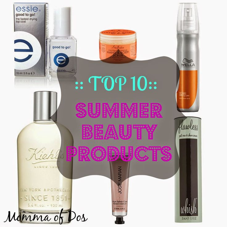 We love these top 10 summer beauty picks by Connie from Momma of Dos. Our Flawless Ingrown Hair Serum is IN!