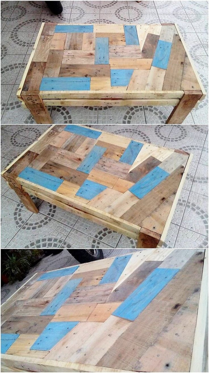 As it is all evident from the name, the rocking designing of the wood pallet table has been introduced for you. Being custom added with the textured pattern effect, this pallet table is perfect to add upon in any corner of the house. How did you find it creative artwork?
