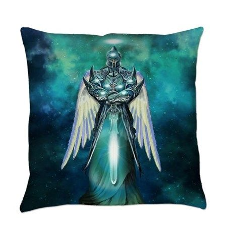 angel Everyday Pillow on CafePress.com