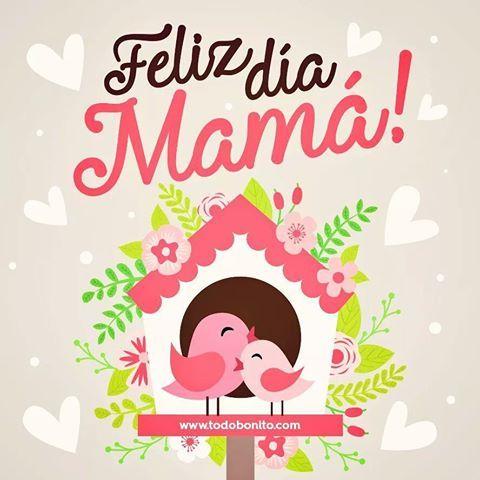 Carteles+De+Aves+Con+Mensajes+Feliz+Día+Mamá