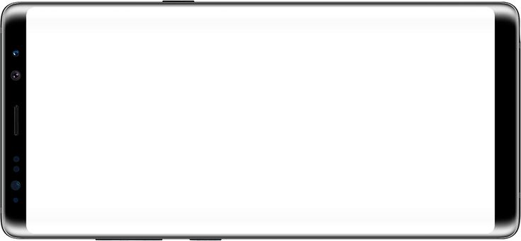 Galaxy Note8 in Landscape mode