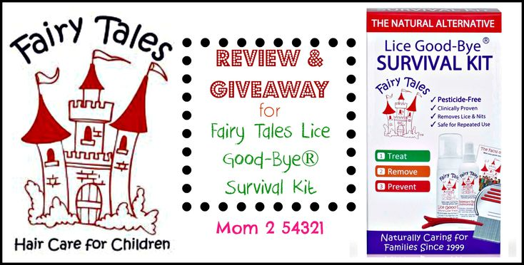 Giveaway for a Fairy Tales Lice Good-Bye Survival Kit from @FariyTalesInc @Mom254321 #Giveaway #Entertowin