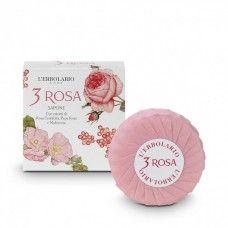 3 Rózsa illatú szappanmentes szappan - Rendeld meg online! Parfüm és kozmetikum család a Lerbolario naturkozmetikumoktól
