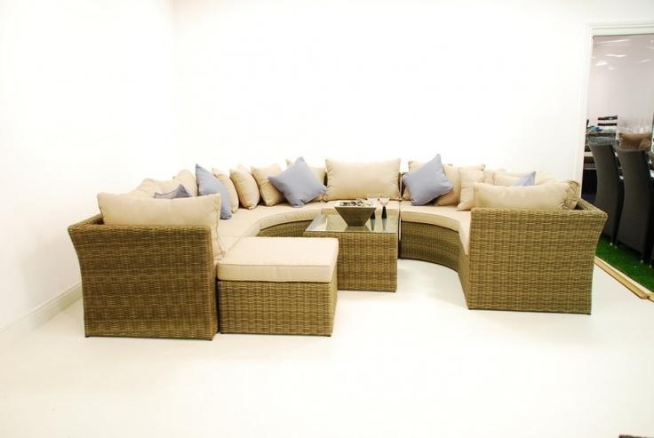 Buy Maze Rattan Winchester Corner Group Sofa Furniture Online from Oak Furniture House