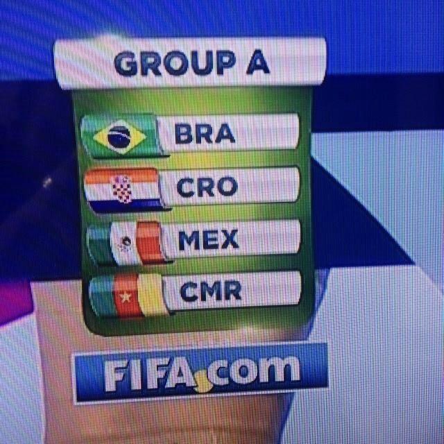 Copa do Mundo - Brasil 2014 - Grupo A - Brasil, Croácia, México e Camarões