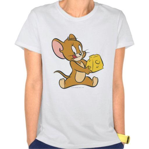 Jerry tiene gusto de su queso. Regalos, Gifts. #camiseta #tshirt
