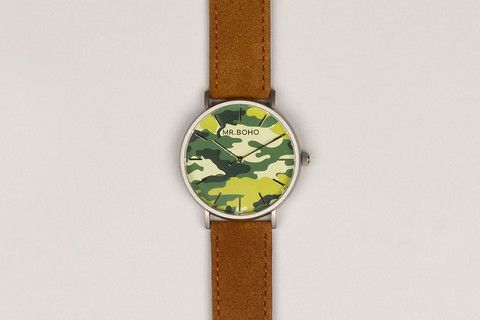 BO ARMY WATCH. MENS COLLECTIONS. SUMMER . MENS WATCH.MR.BOHO