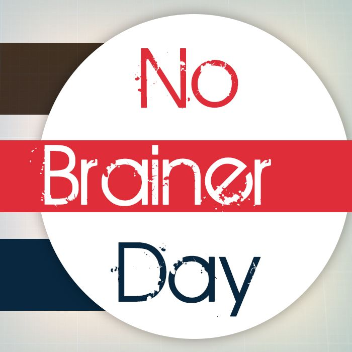 "#InterestingFacts:  The world celebrates No Brainer day today. The term denotes doing something that is simple and obvious. So today is the day to do all those ""no brainer"" activities and tasks."