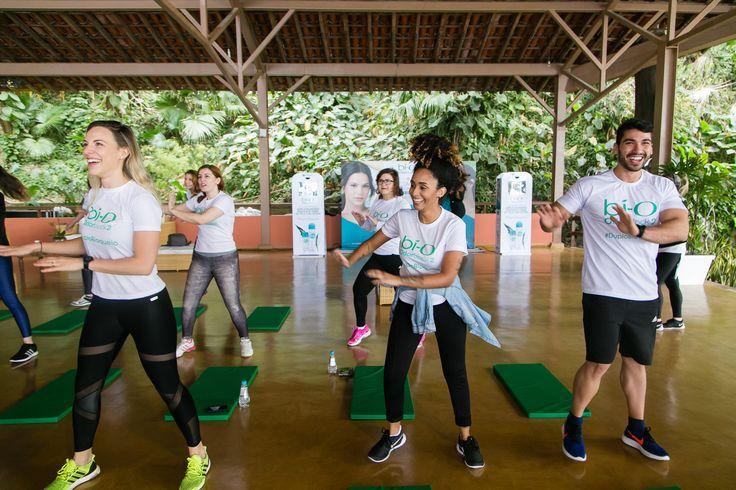 Vamos dançar? Garnier Bí-O e Boa Forma promovem dupla aula funcional no Rio