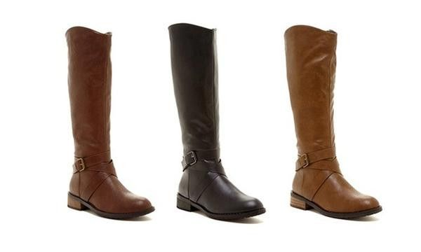 Bucco Venita Women's Riding Boot - Tall riding boot - Made with animal-friendly faux leather - Convenient side zipper - Low heel - 100% polyurethane upper - 100% PVC lining - 100% TPR sole - Fit: true